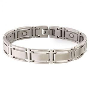 Picture of Sabona Men's Executive Symmetry Silver Magnetic Bracelet