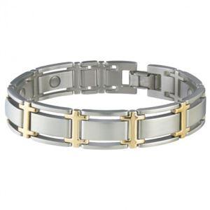 Picture of Sabona Men's Executive Symmetry Duet Magnetic Bracelet