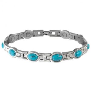 Picture of Sabona Women's Turquoise Magnetic Bracelet